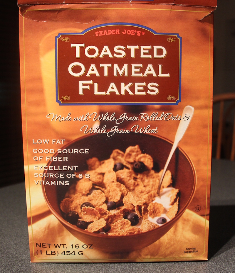 Review: Trader Joe's Toasted Oatmeal Flakes Cereal