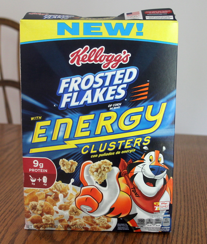 Review: Frosted Flakes with Energy Clusters Cereal