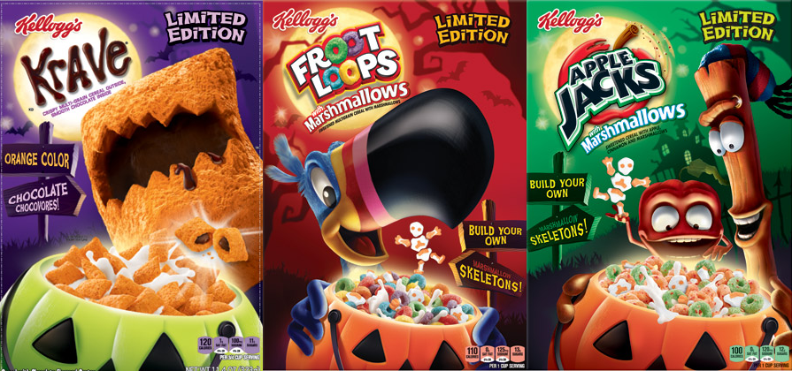 News: Kellogg's Unearths Limited Edition Krave, Froot Loops, and ...