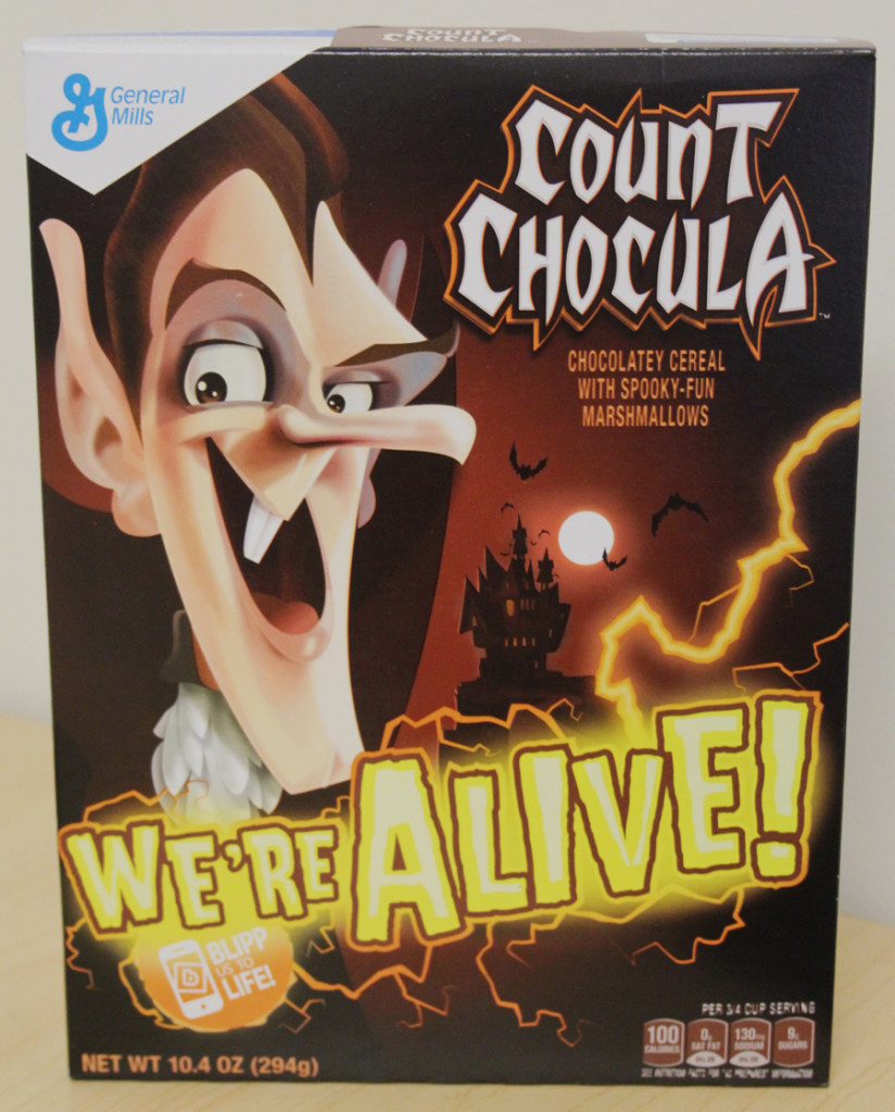 Count Chocula Box
