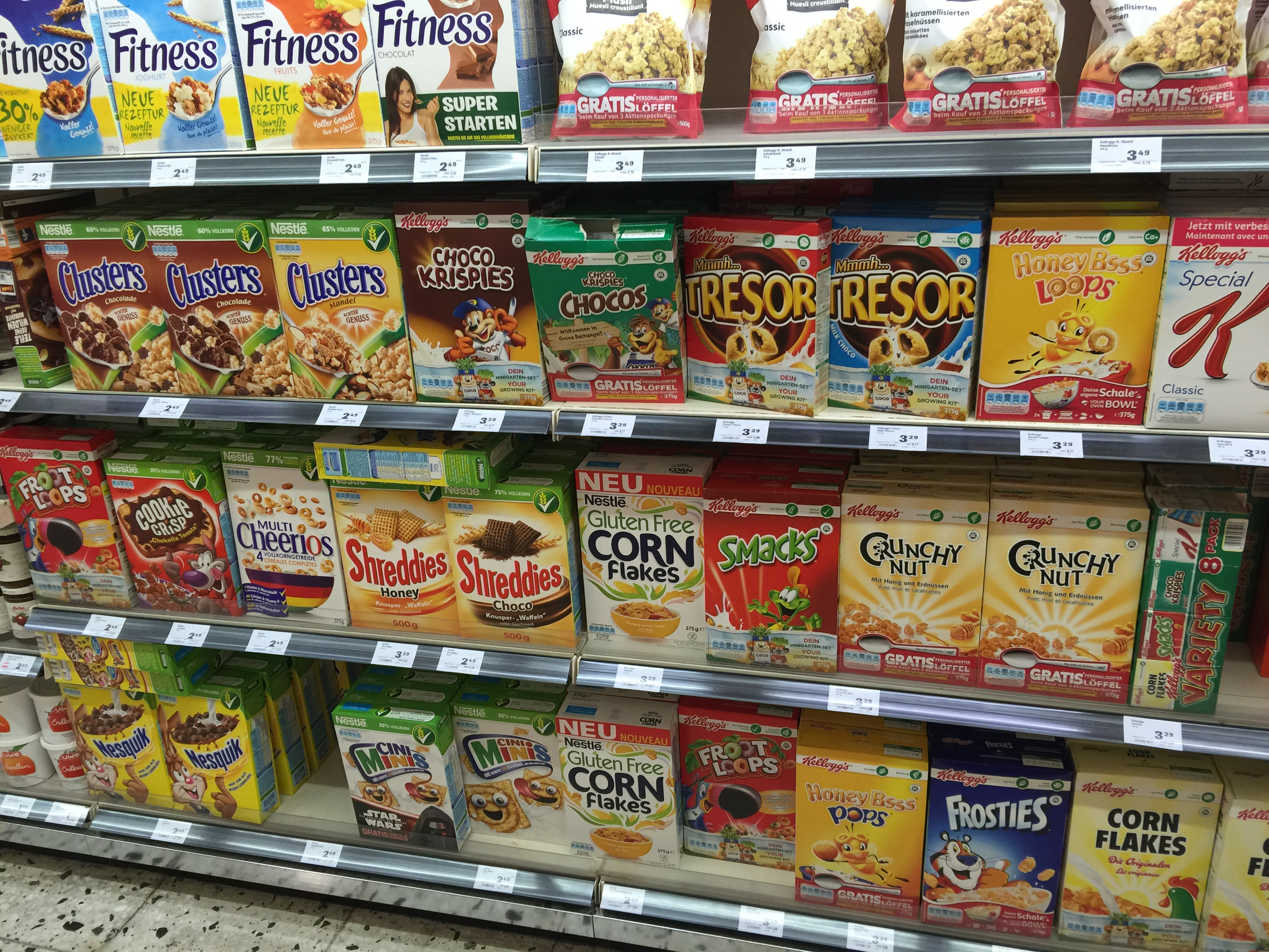 special spooned spotted austrian cereals