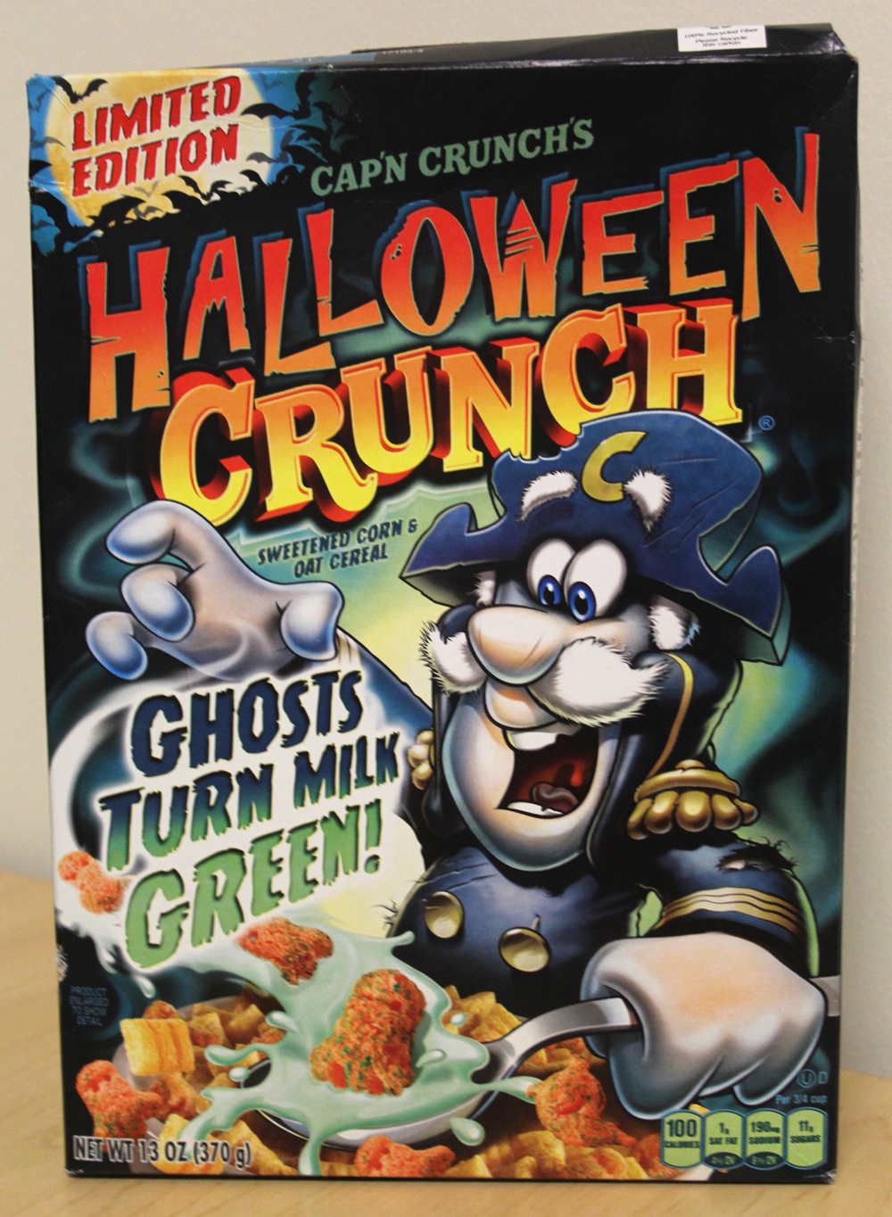 Review: Cap'n Crunch's Halloween Crunch Cereal (2015)