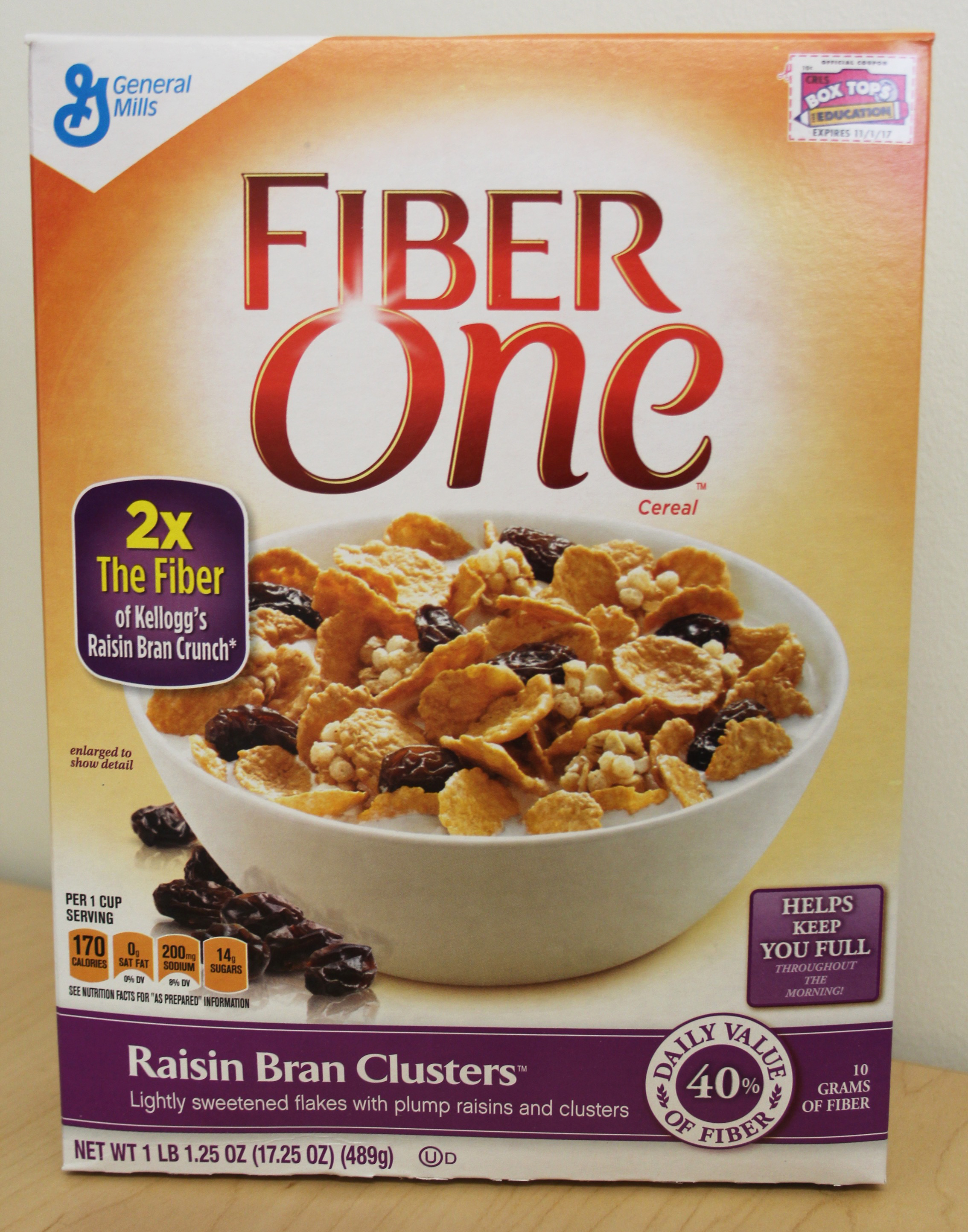 Review: Fiber One Raisin Bran Clusters Cereal