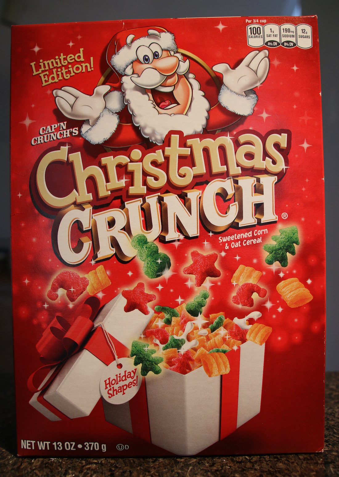 Christmas Crunch Cereal.Review Cap N Crunch S Christmas Crunch Cereal 2015