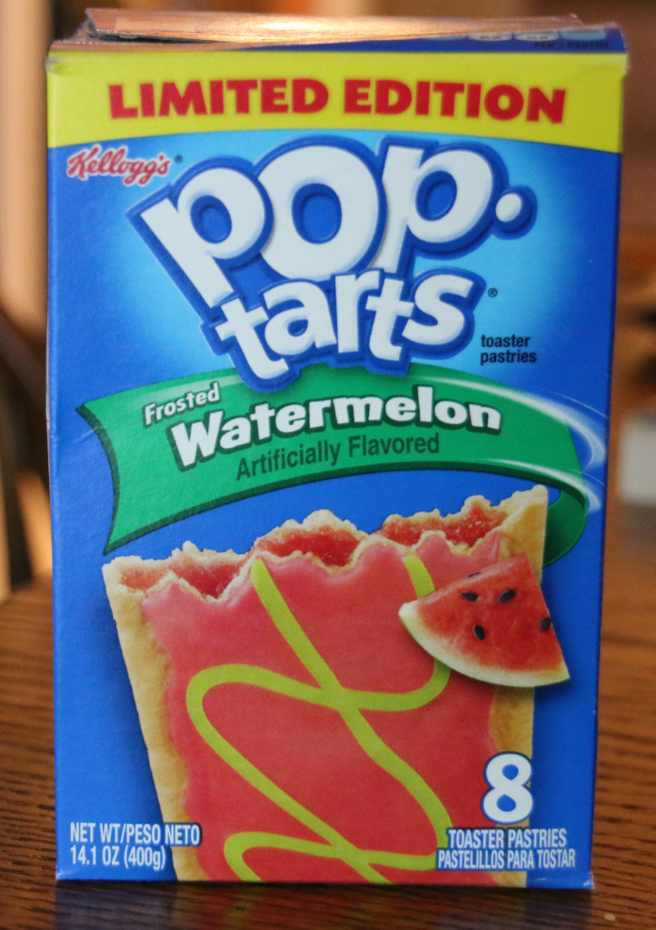 Review: Kellogg's Frosted Watermelon Pop-Tarts