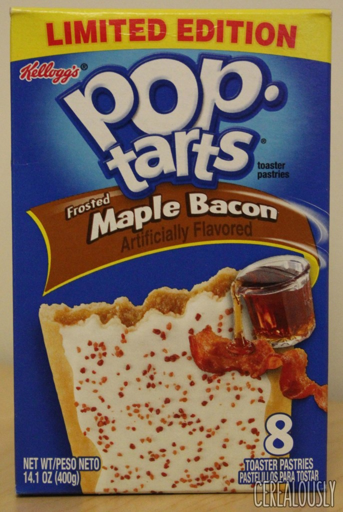 Pop Tarts Frosted Maple Bacon Count