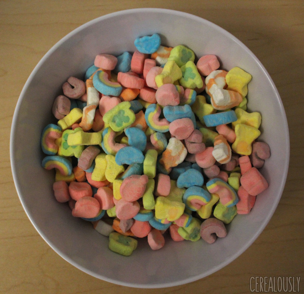 review lucky charms marshmallows only cereal