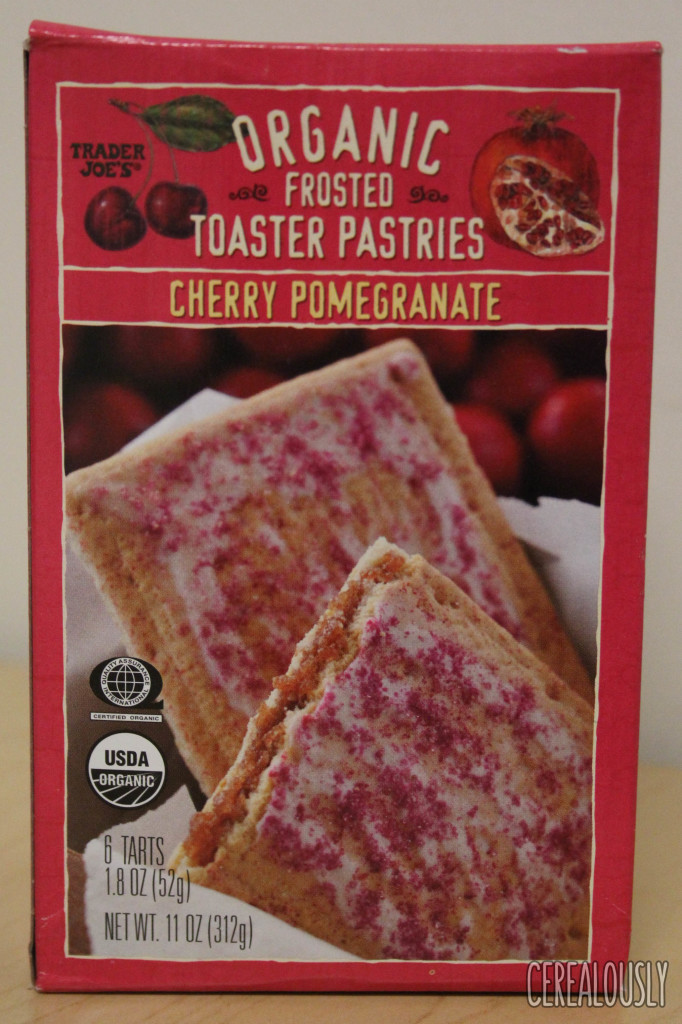 ... : Trader Joe's Cherry Pomegranate Organic Frosted Toaster Pastries