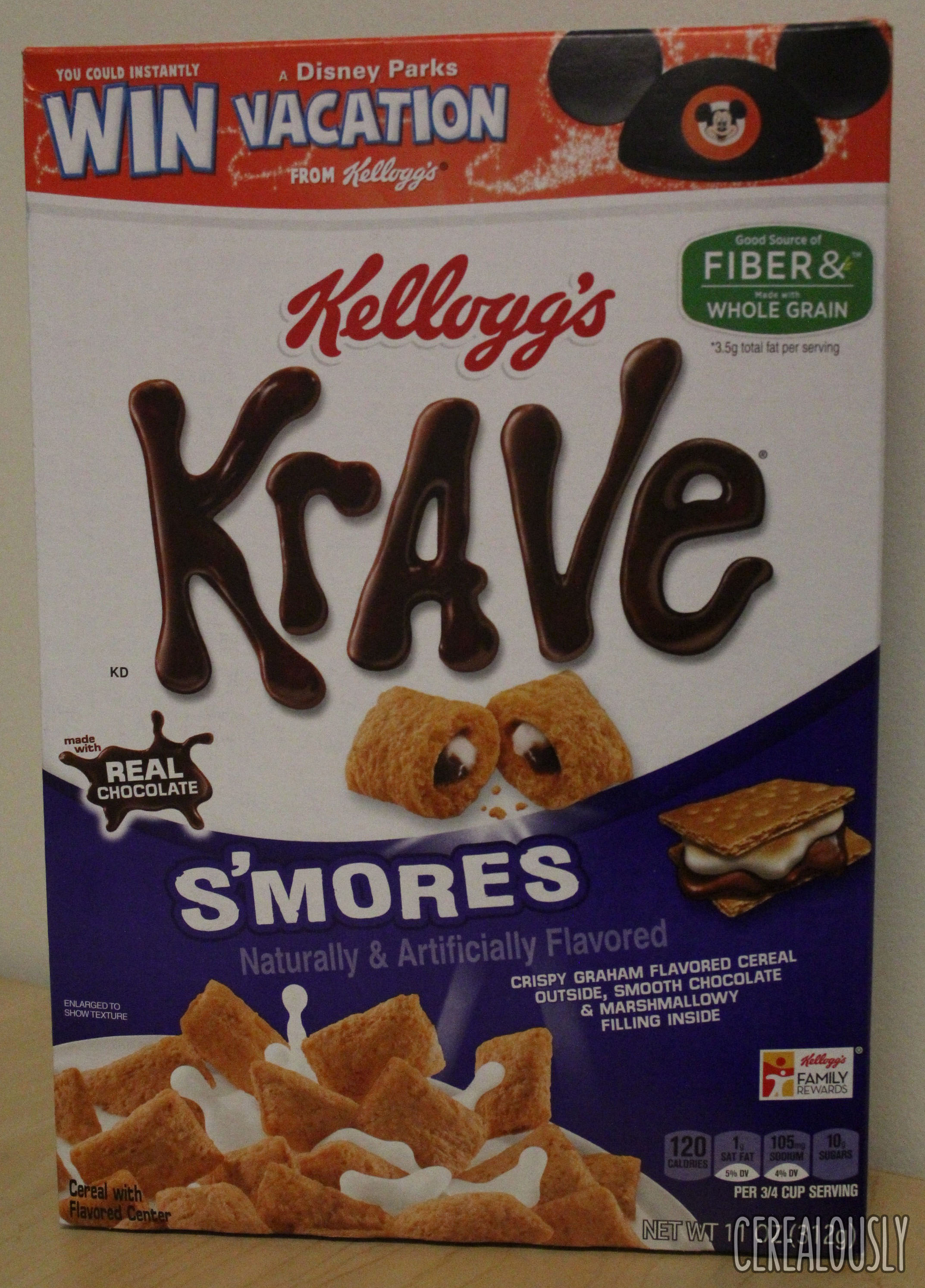 Review: Kellogg's Krave S'Mores