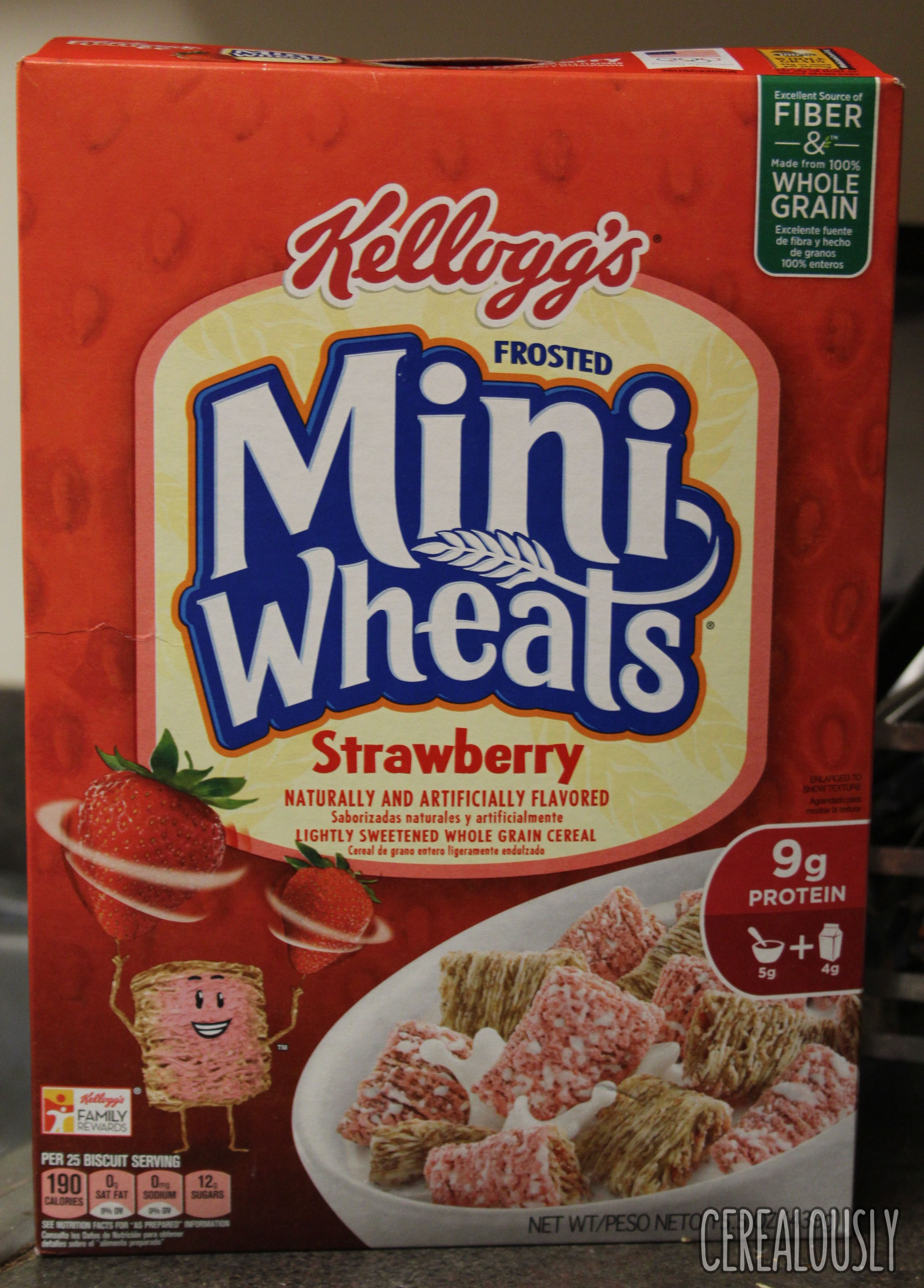 review: kellogg's strawberry frosted mini-wheats