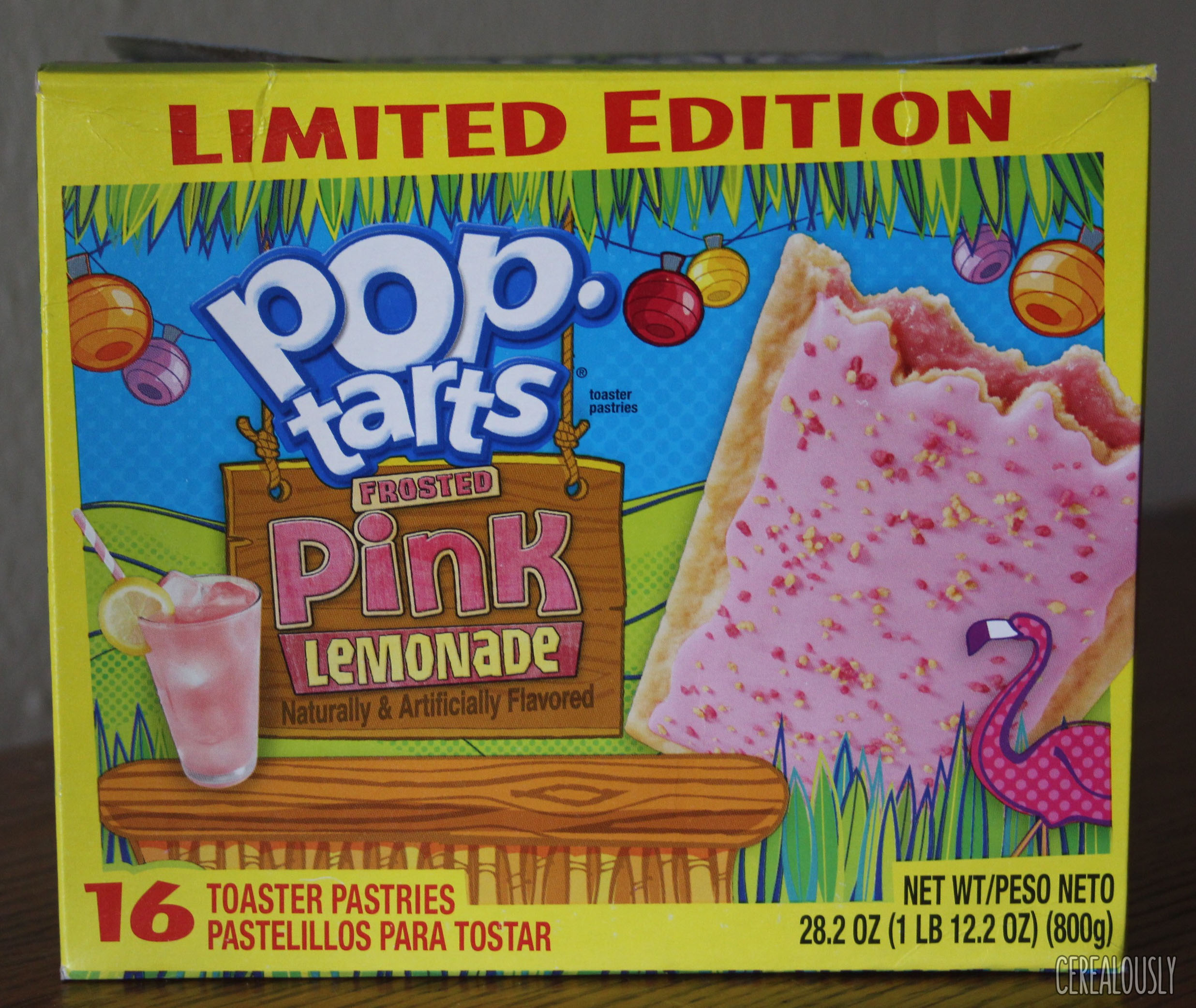 Review: Kellogg's Limited Edition Frosted Pink Lemonade Pop-Tarts