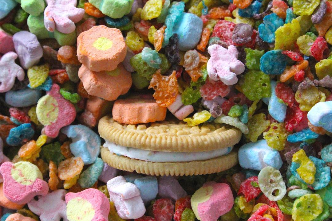 Review: Post Marshmallow Fruity Pebbles Cereal Bowl Of Fruity Pebbles Calories
