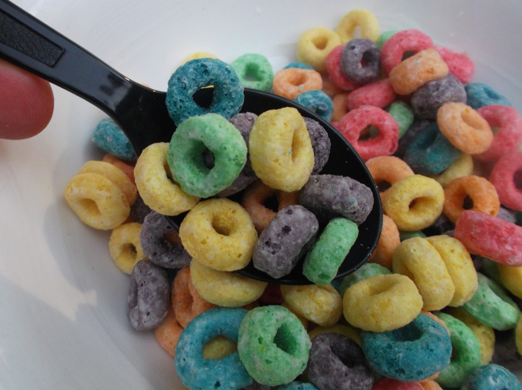 how to make cereal bars with fruit loops