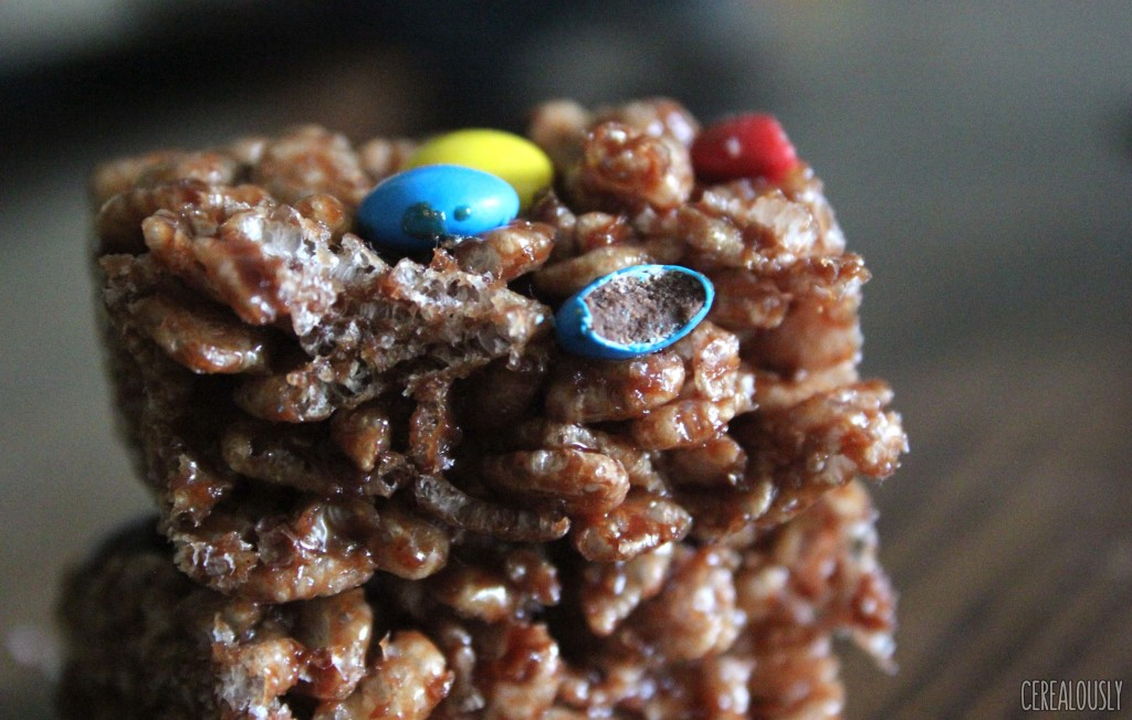 how to make rice crispy cakes with cocoa powder
