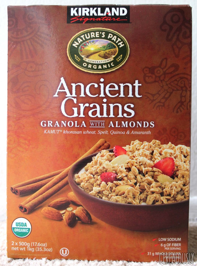 Kirkland Signature Nature's Path Organic Ancient Grains Granola with Almonds Box