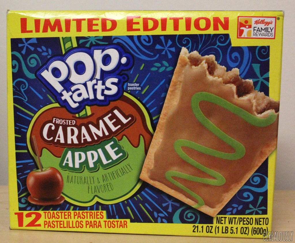 Kellogg's Limited Edition Frosted Caramel Apple Pop-Tarts Box