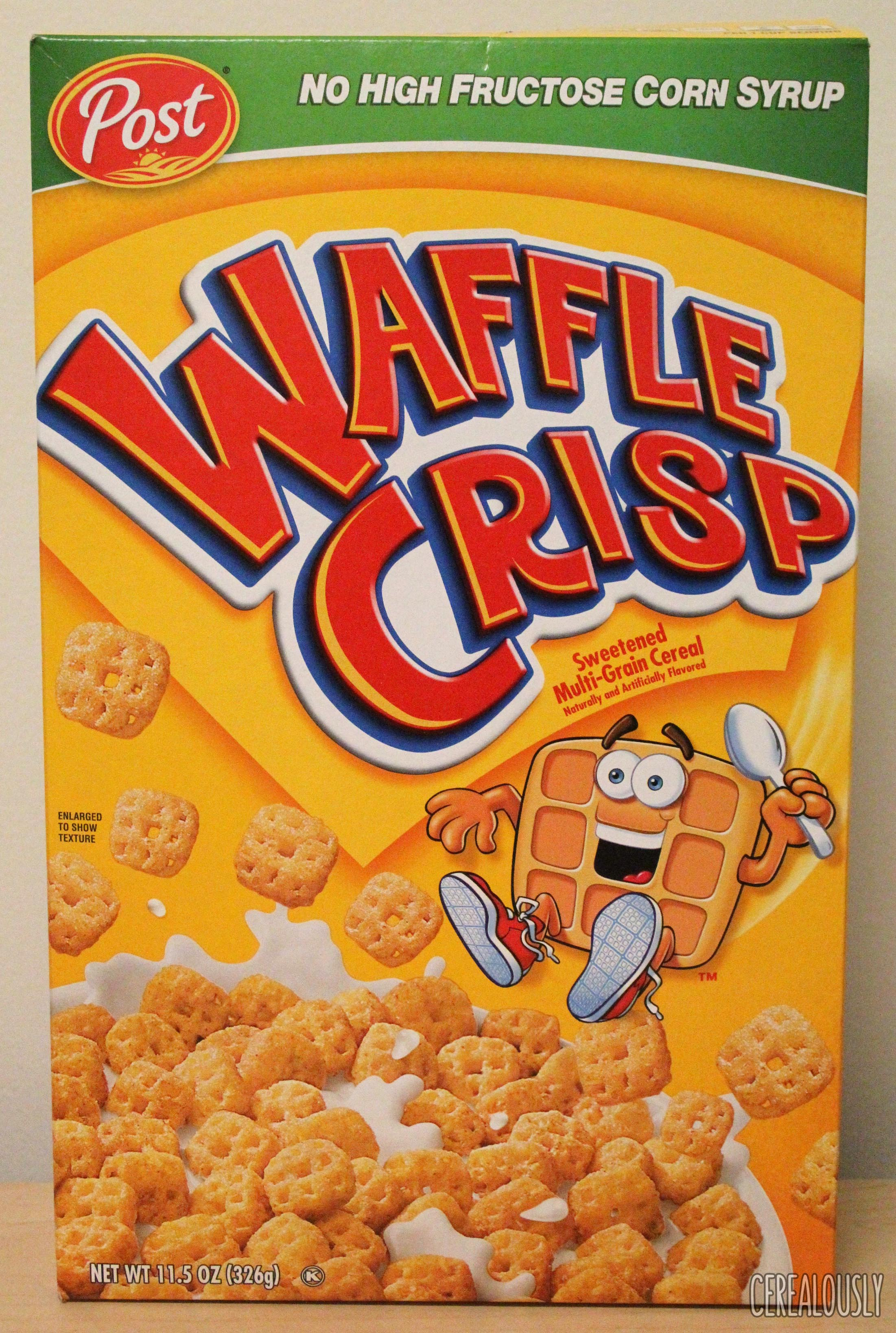 Classic Review: Waffle Crisp Cereal