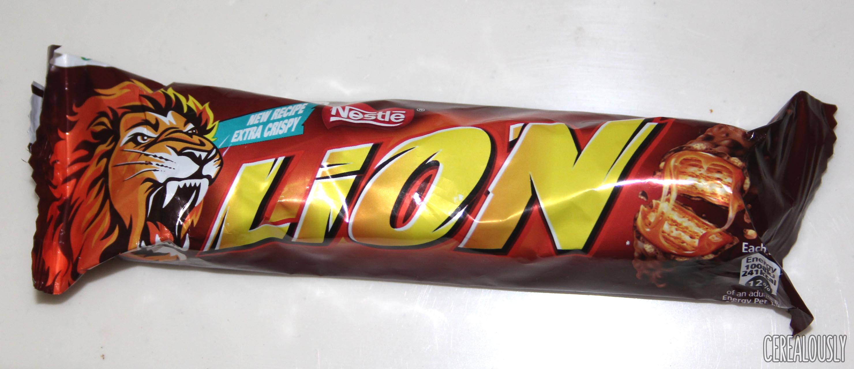 Nestle Lion Cereal Bar Wrapper Review