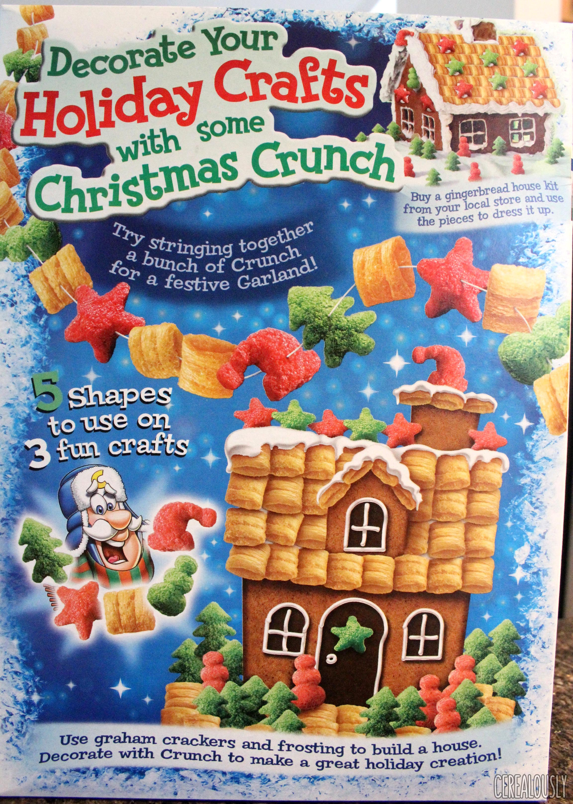 Christmas Crunch Cereal.Cap N Crunch S Christmas Crunch Our 2016 Review