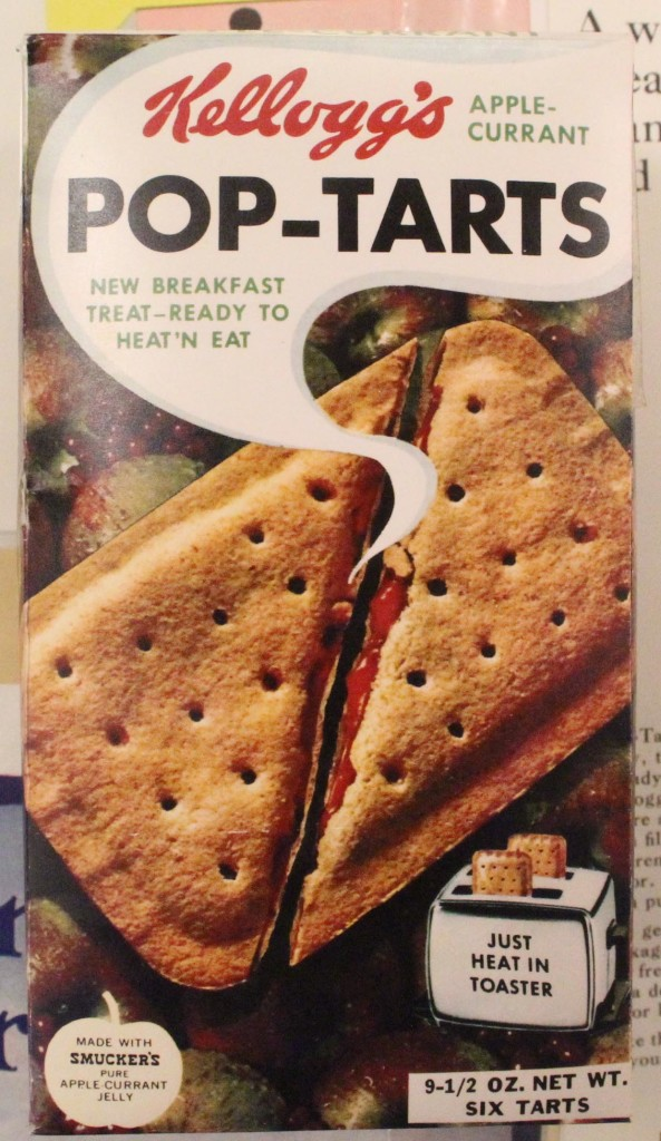 Kellogg's Apple Currant Pop-Tarts Box