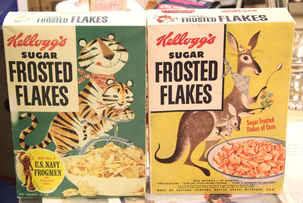 Retro Frosted Flakes Kangaroo Box
