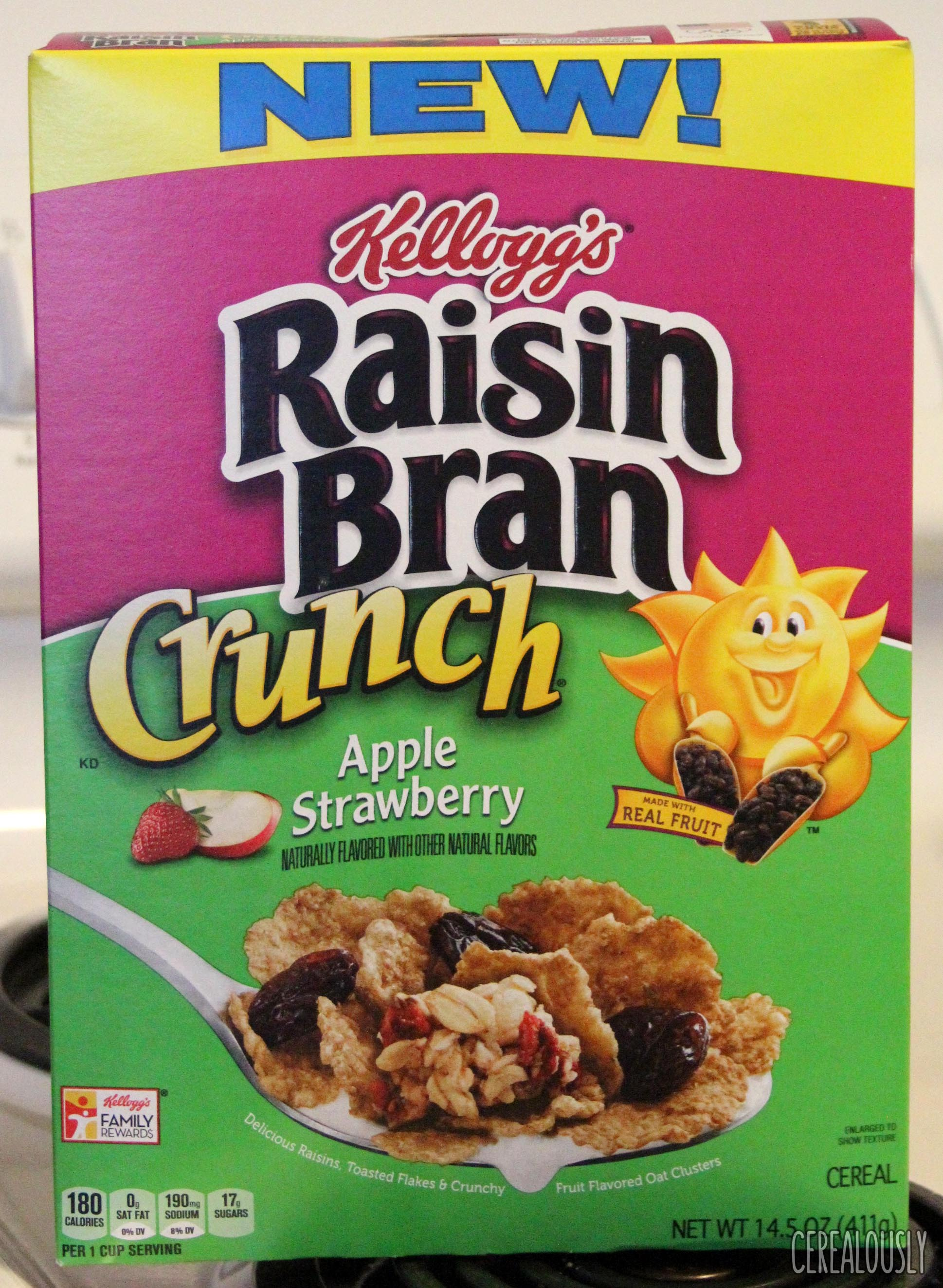 review: apple strawberry raisin bran crunch cereal