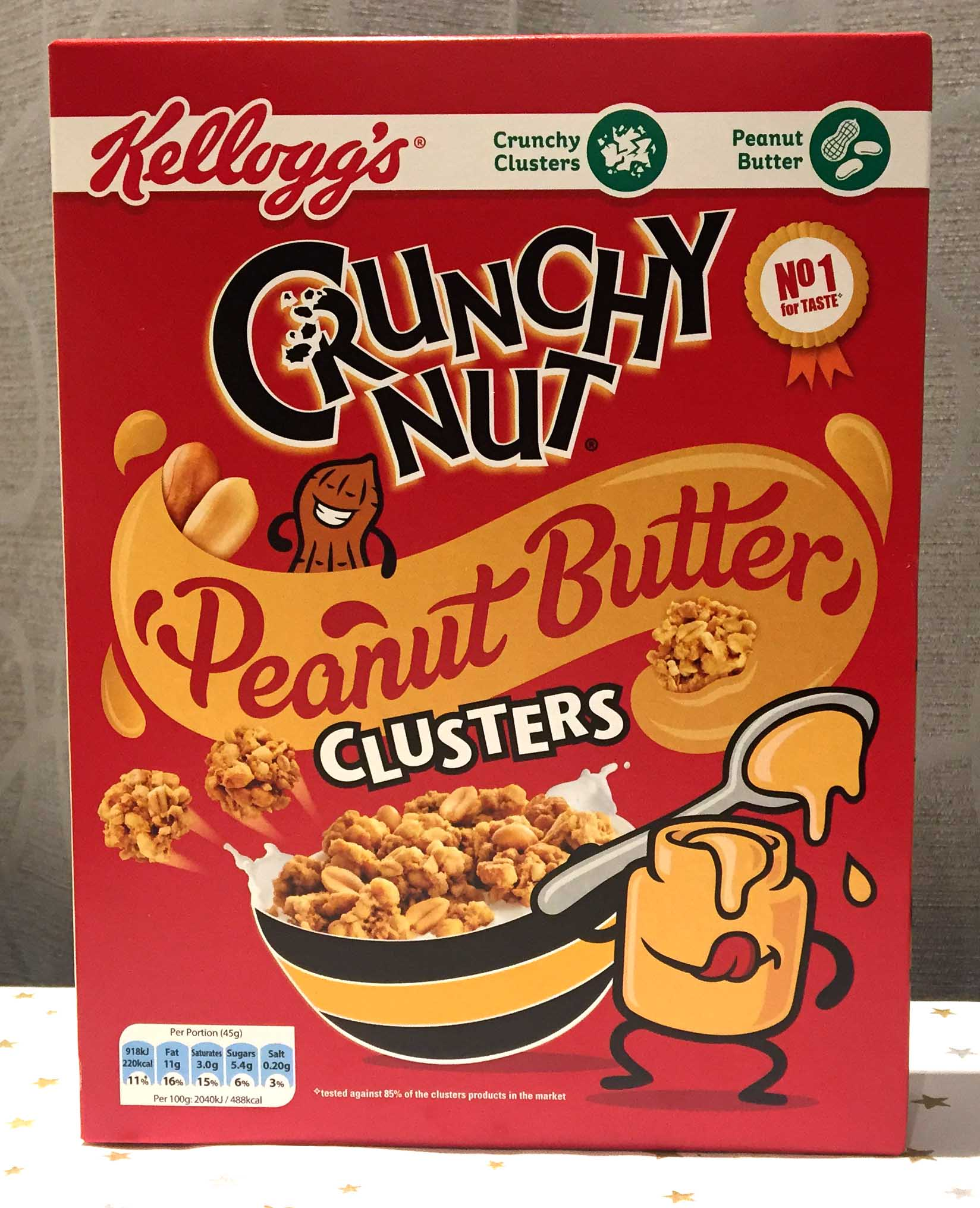 Spooned & Spotted (UK): Crunchy Nut Peanut Butter Clusters
