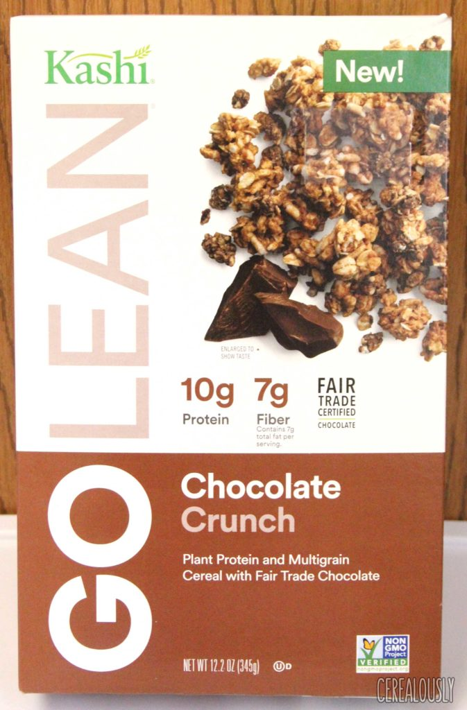 Kashi Chocolate Crunch Cereal Box