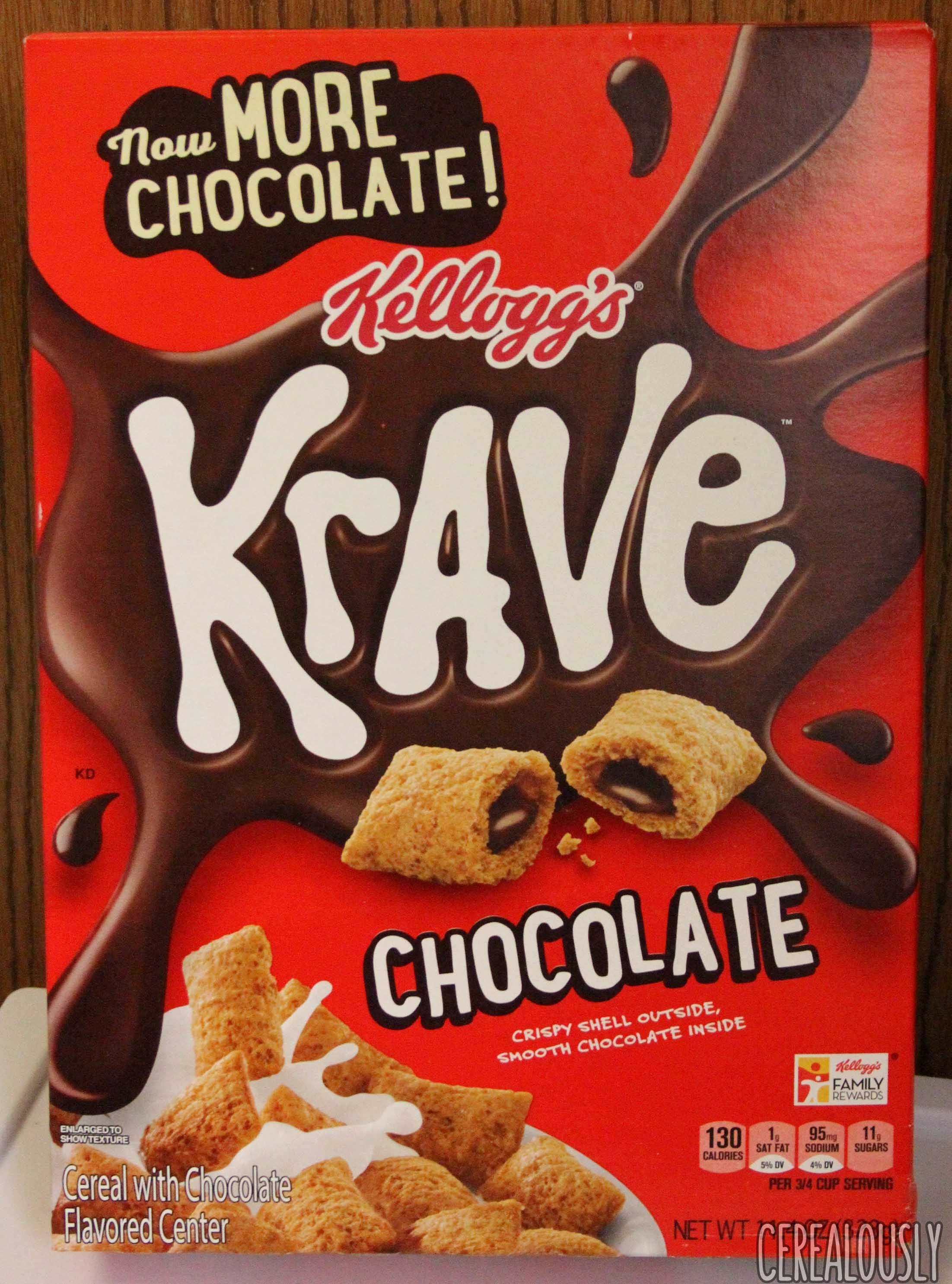 Review: Krave Cereal (Now with More