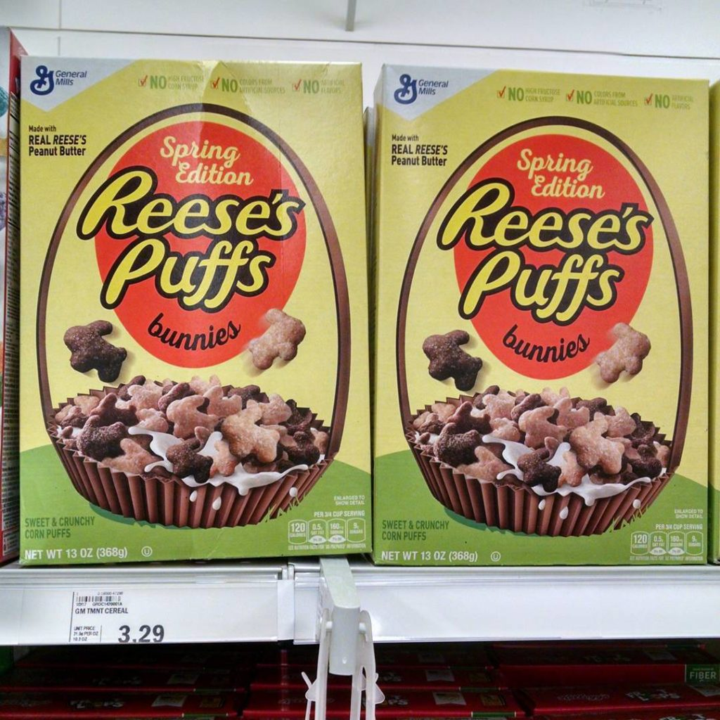 Reese's Puffs Bunnies Cereal