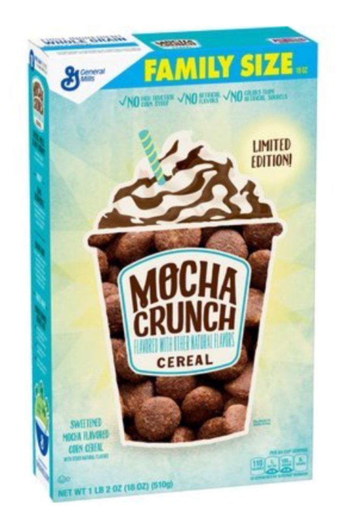 Chocolate Mocha Crunch Cereal