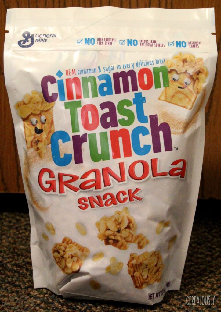 Cinnamon Toast Crunch Granola Snack Bag