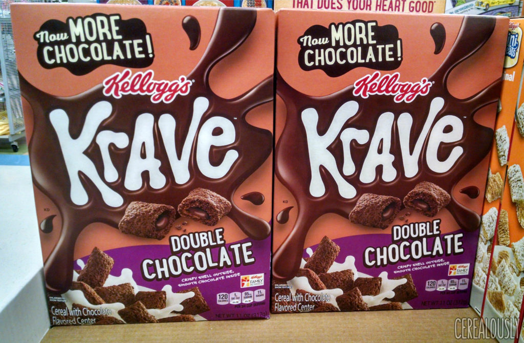 Kellogg's Now More Chocolate Double Chocolate Krave Cereal