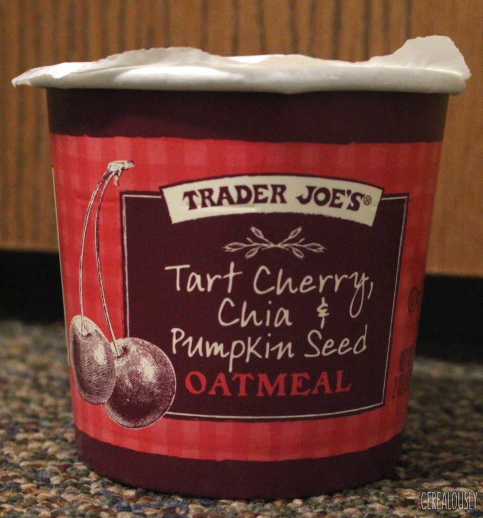 Trader Joe's Cherry, Chia and Pumpkin Seed Oatmeal Cup