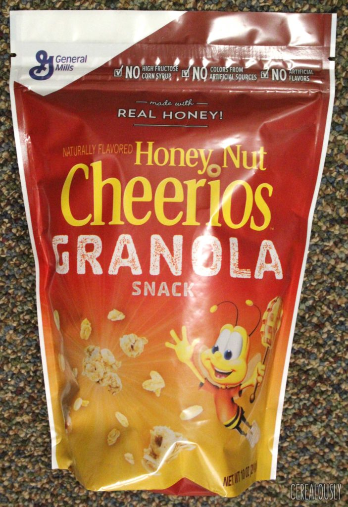 Honey Nut Cheerios Granola Snack Cereal Pouch
