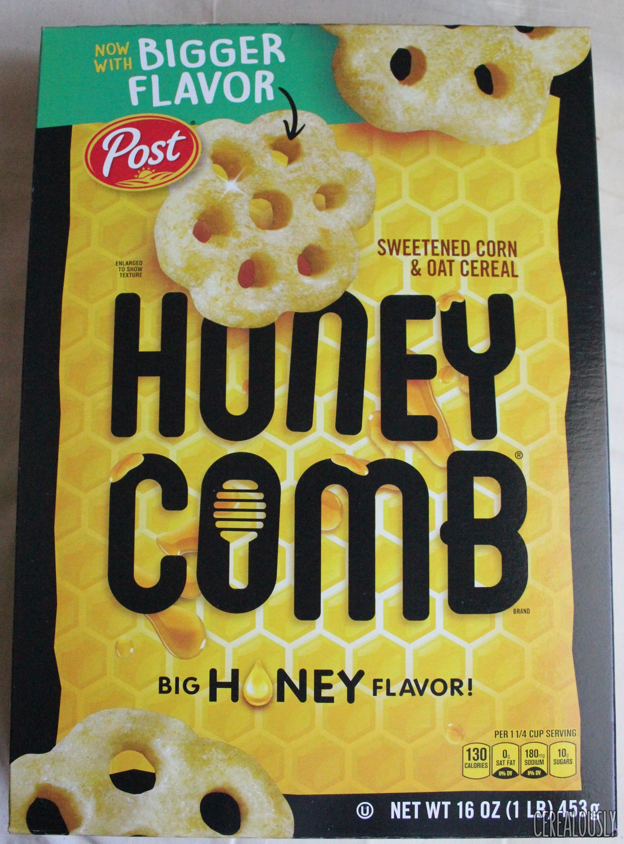 Review honeycomb cereal now with bigger flavor ccuart Gallery