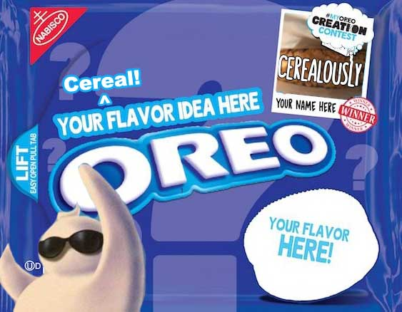 Cereal Oreo Banner