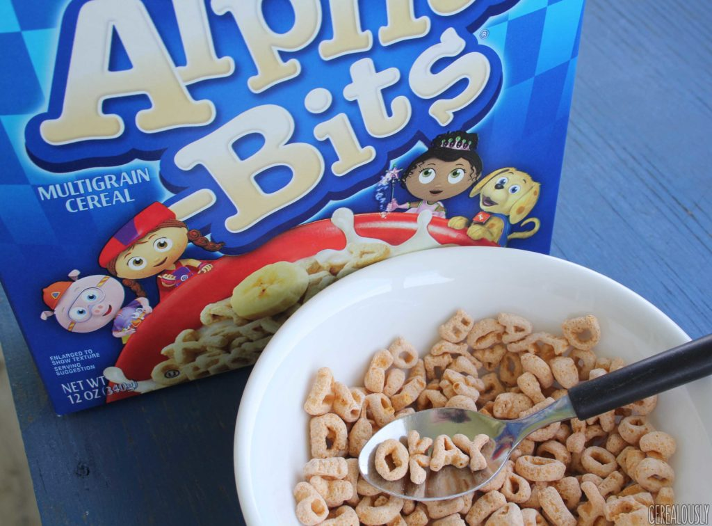 Review: New And Improved Alpha-Bits Cereal