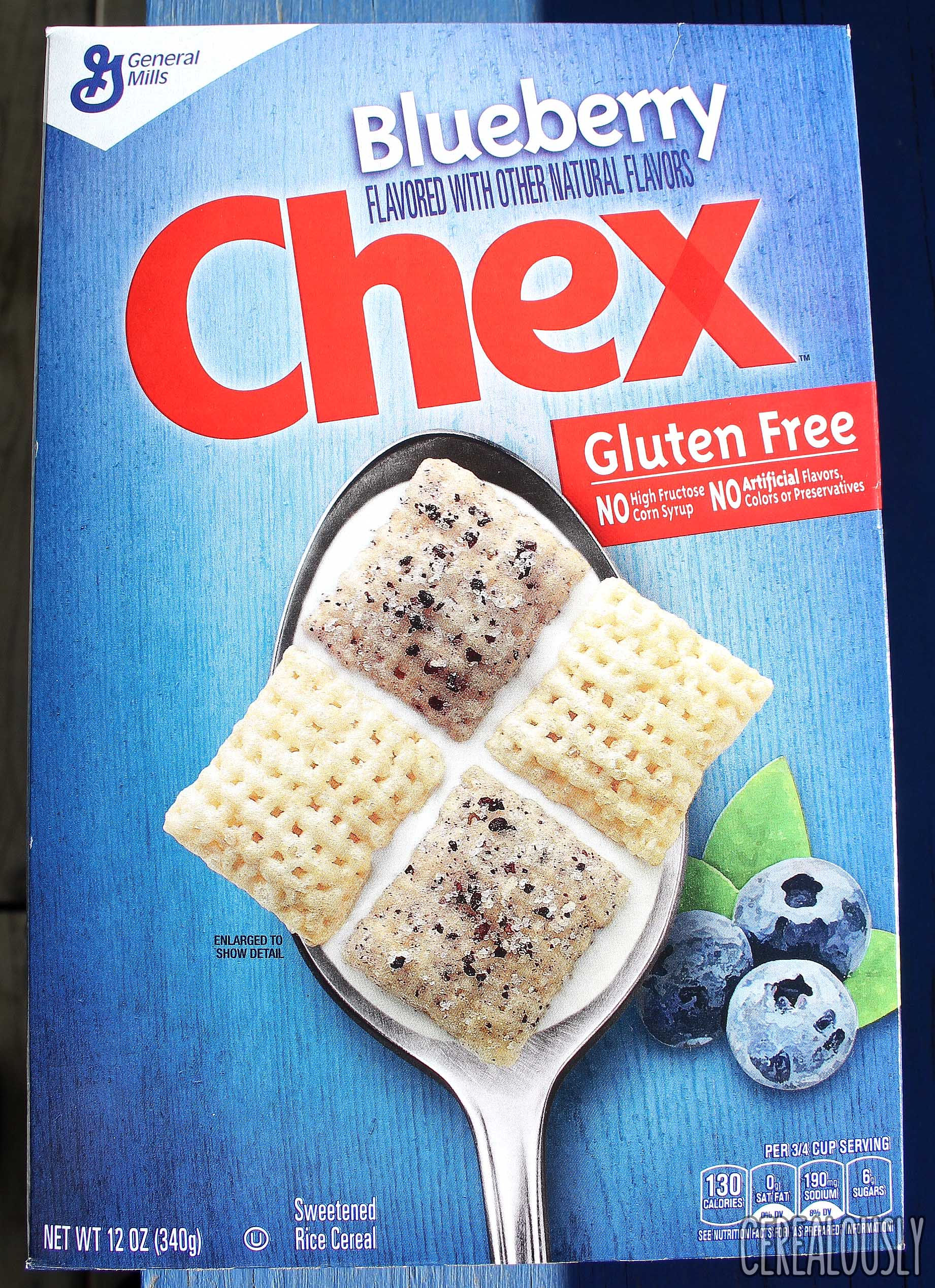 Review blueberry chex cereal general mills gluten free blueberry chex cereal review box ccuart Image collections