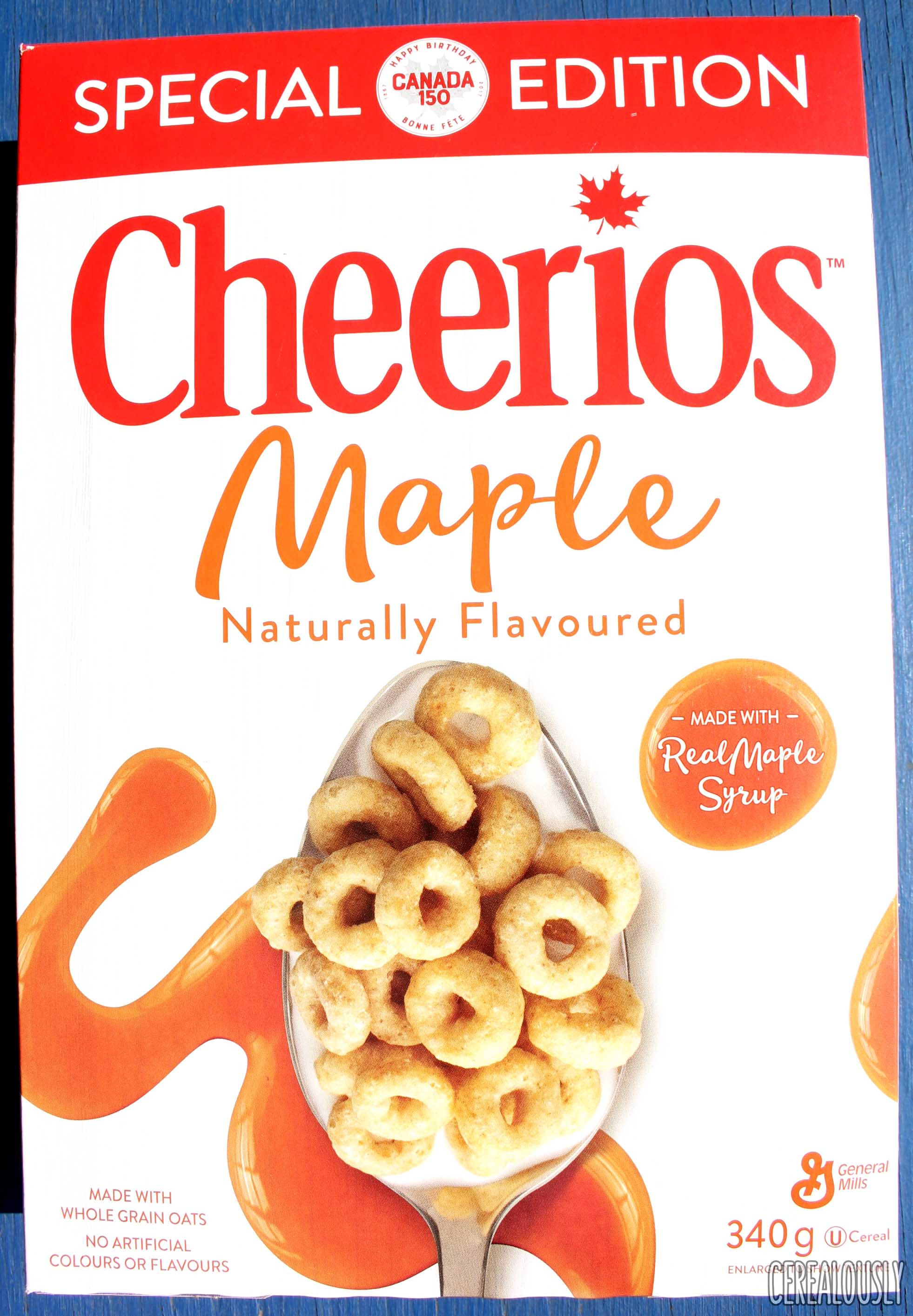 review: canadian maple cheerios cereal