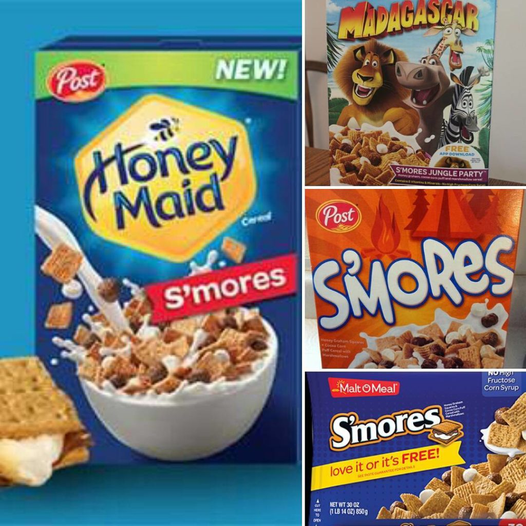 New Honey Maid S'mores Cereal with Madagascar and More