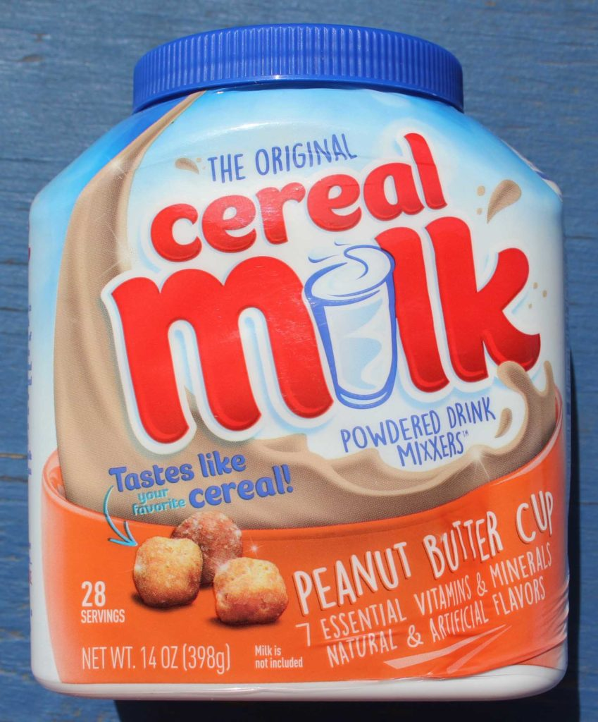 Peanut Butter Cup Powdered Cereal Milk Drink Mixxer