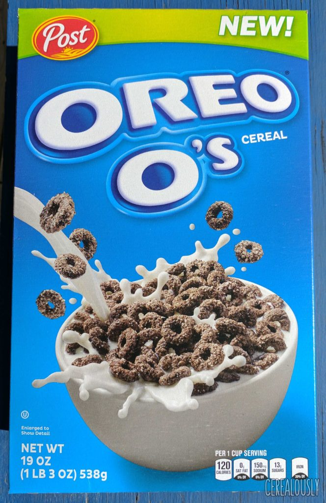 Post American Oreo O's Cereal – 2017, from Walmart - Box