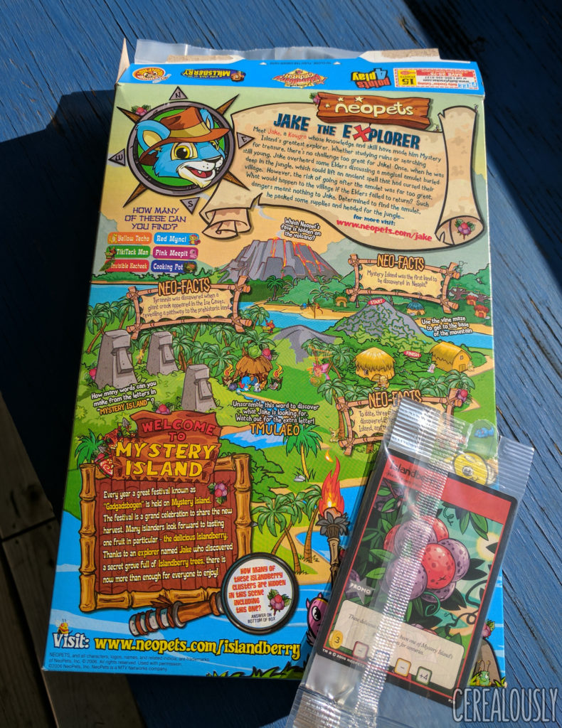 neopets-islandberry-crunch-cereal-box-trading-cards-2006