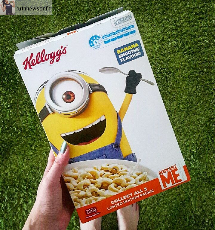 Australian Despicable Me Cereal