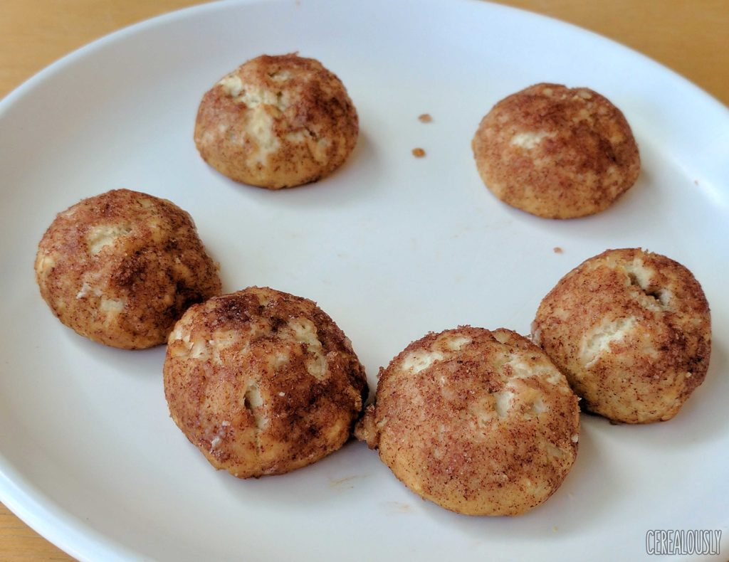 General Mills Cinnamon Toast Crunch Bites Review Cereal Donut Holes – Microwaved
