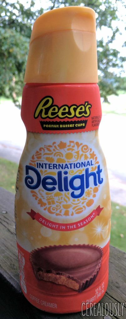 International Delight Reese's Peanut Butter Cup Coffee Creamer Review – Bottle
