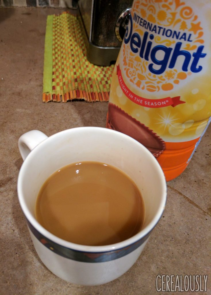 International Delight Reese's Peanut Butter Cup Coffee Creamer Review – Brewed