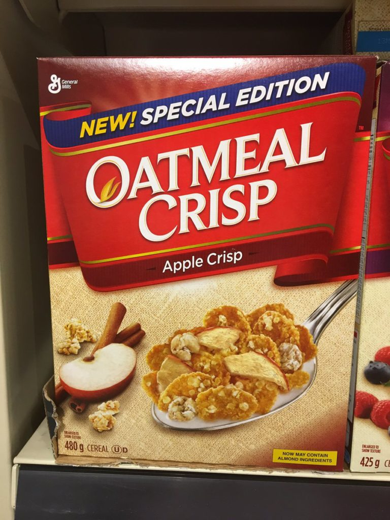 Apple Crisp Oatmeal Crisp Cereal