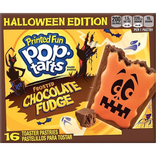 Halloween Spookylicious Chocolate Fudge Pop-Tarts Printed Fun